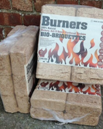 Burners Bio-Briquettes