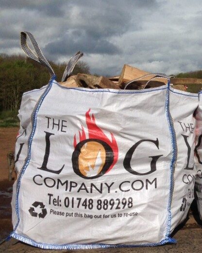 Dumpy Bag of Hardwood Logs
